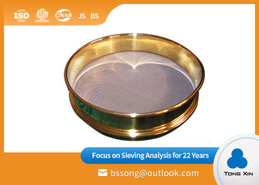 304 SS Laboratory Test Sieves High Strength Long Working Life  Diameter 500mm